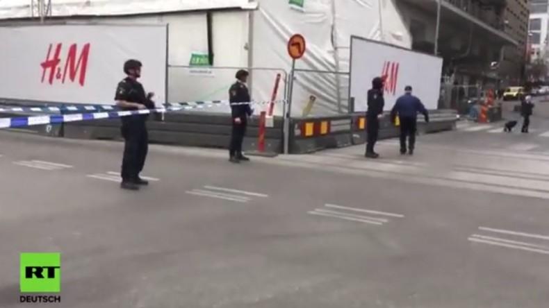 LIVE aus Stockholm nachdem LKW in Menschenmenge gerast ist