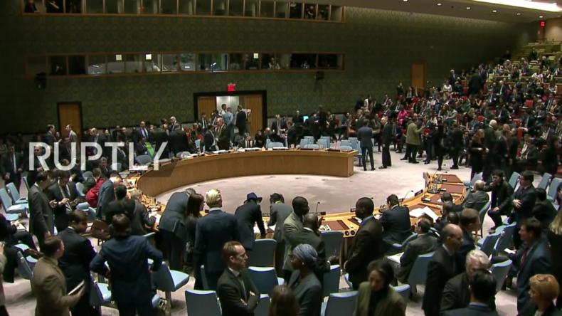 Live: Sondersitzung des UN-Sicherheitsrat zu US-Beschuss in Syrien