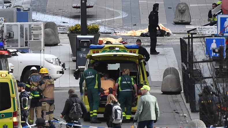LKW-Attentat in Stockholm: Mindestens drei Tote und zahlreiche Verletzte