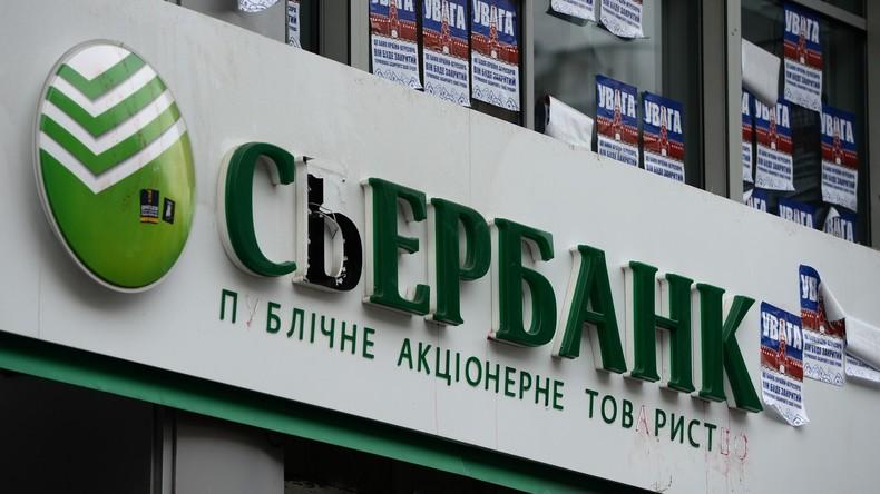 Russische Sberbank verlässt ukrainischen Markt