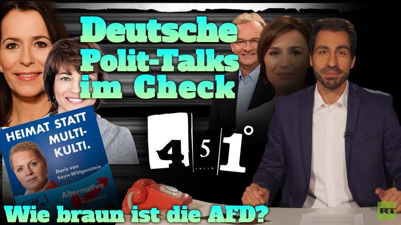 451 Grad || Politische Talkshows analysiert | Wie braun ist die AfD? || 28