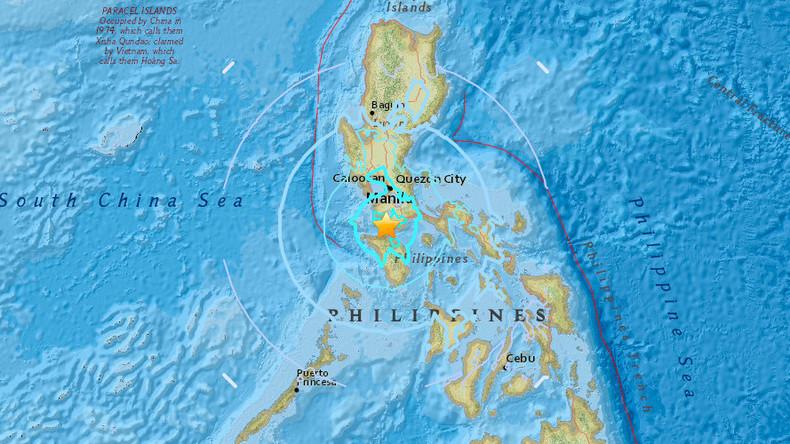 Zwei Erdbeben erschüttern die Philippinen und lösen Panik aus