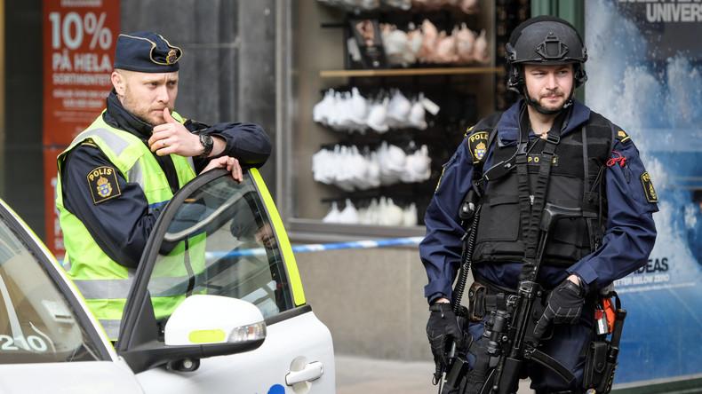 Terroranschlag in Stockholm: Polizei schließt mehrere Täter nicht aus