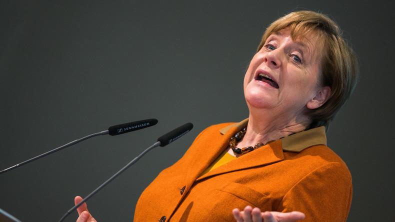 Angela Merkel dringt auf schnelle politische Lösung für Syrien