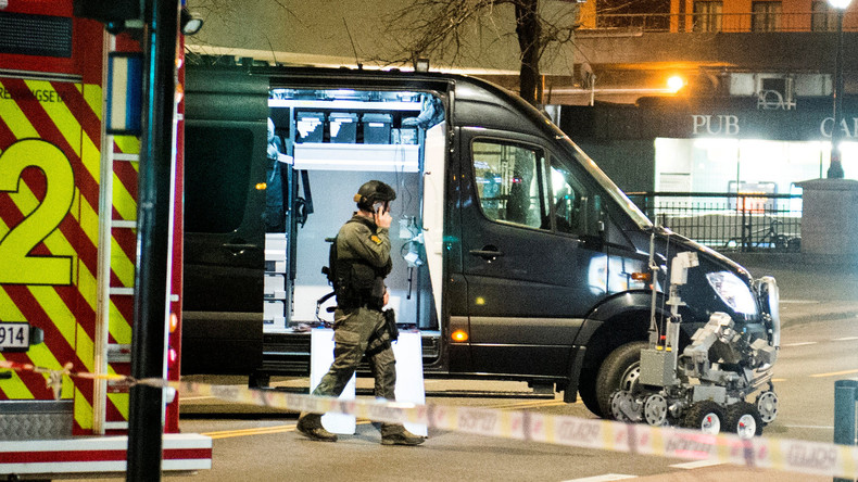 Bombenähnlicher Fund in Oslo - Polizei befragt Verdächtigen