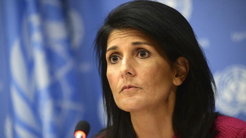 """US-Diplomatin Nikki Haley: """"Assads Absetzung bleibt für die USA Priorität"""""""