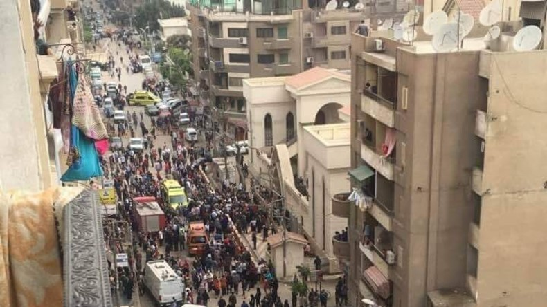 Ägypten: Mindestens 25 Menschen sterben bei Explosion in Kirche