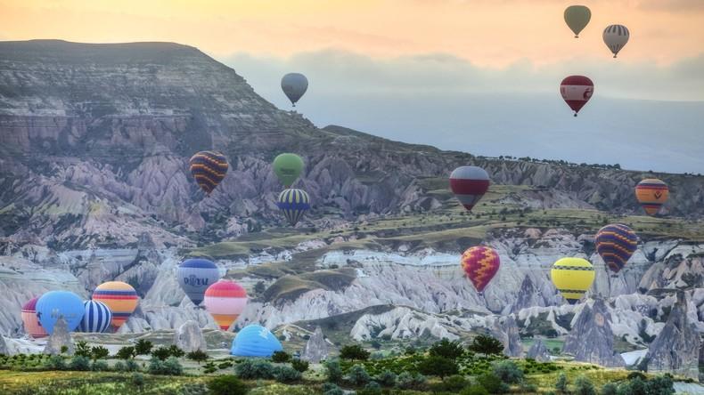 Tourist stirbt bei Absturz von Heißluftballon in Türkei