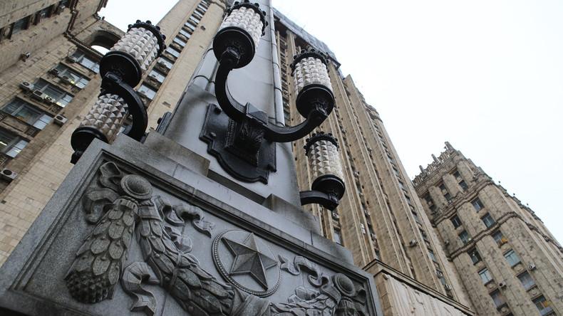 """Russlands Außenministerium: """"Moskau braucht den Dialog nicht in höherem Maße als London"""""""