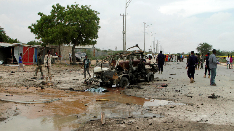 Mindestens 20 Tote bei Selbstmordanschlag in Mogadischu