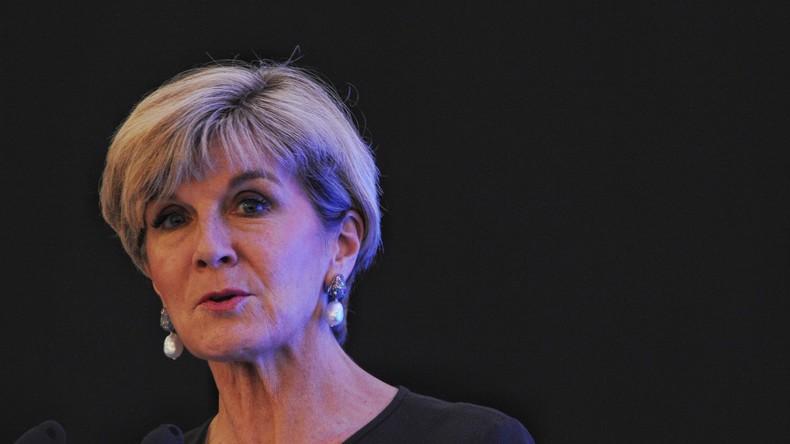 Australische Außenministerin ruft Moskau zum Stopp der Unterstützung von Assad auf