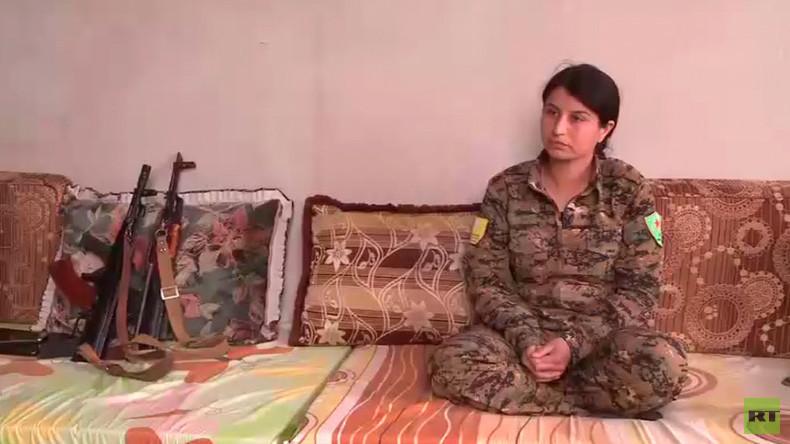 """Kurdische Kämpferin: """"Ich bin stolz, für mein Volk zu kämpfen"""""""