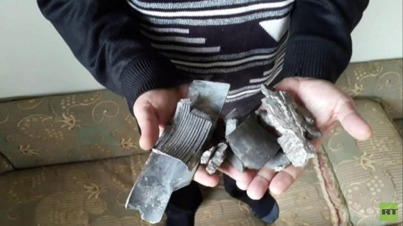 """Dorfbewohner aus Syrien: """"US-Raketen trafen unsere Häuser"""""""