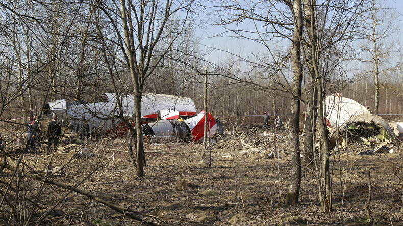 Polen: Trauer um Opfer vom Flugzeugabsturz in Smolensk
