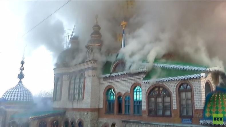 Kazan: Brand im Tempel aller Religionen - ein Todesopfer
