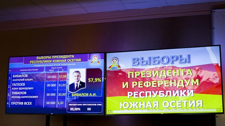 Südossetien: Neuer Präsident und neuer Staatsname gewählt
