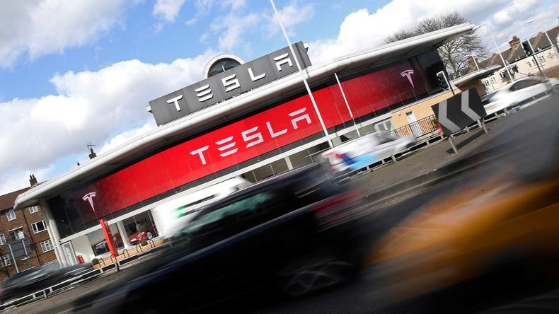 Teslas Aktienkurs holt General Motors ein