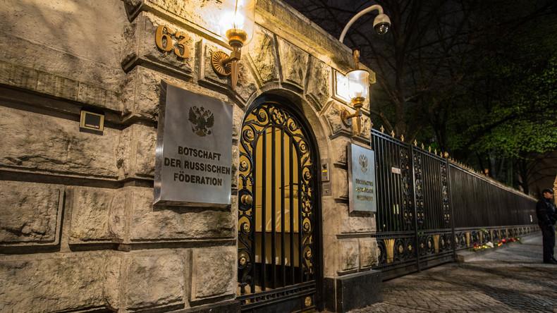 Marokkaner wegen mutmaßlich geplantem Anschlag auf russische Botschaft in Gewahrsam genommen