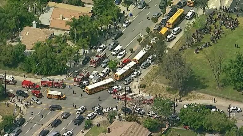 Mehrere Verletzte bei Beschuss der Grundschule in San Bernardino
