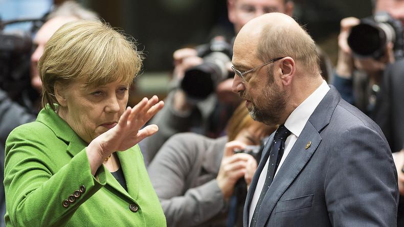 Umfragen: CDU/CSU immer noch vor SPD