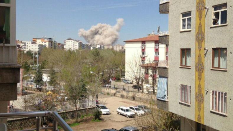 Explosion im türkischen Diyarbakır - Mehrere Verletzte
