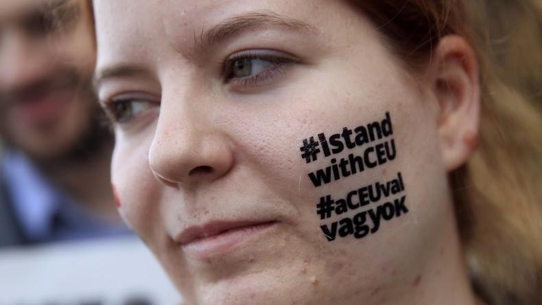 Ungarn: Soros-Universität vor dem Aus, Tausende demonstrieren