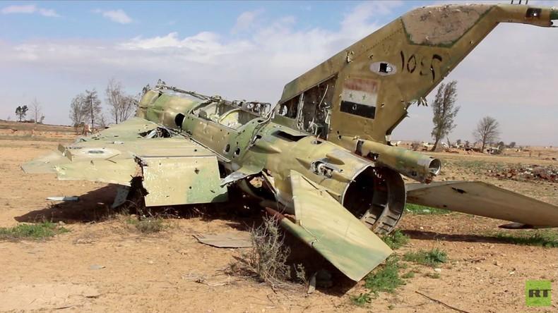 Syrien: Seltene Bilder des strategischen Militärflughafens al-Tabqa nach Einnahme durch SDF