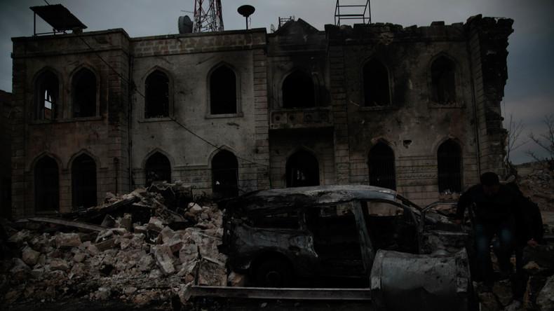 Zwei russische Soldaten bei Mörserangriff in Syrien getötet
