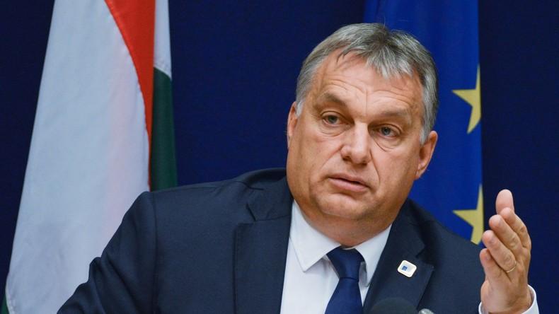George Soros und Viktor Orbán bekriegen sich in Budapest