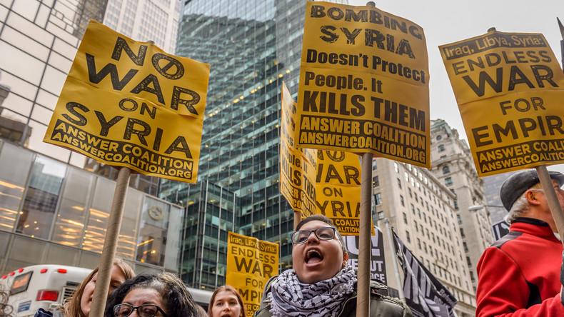 US-Amerikaner rufen Petition gegen Trumps Vorgehen in Syrien ins Leben