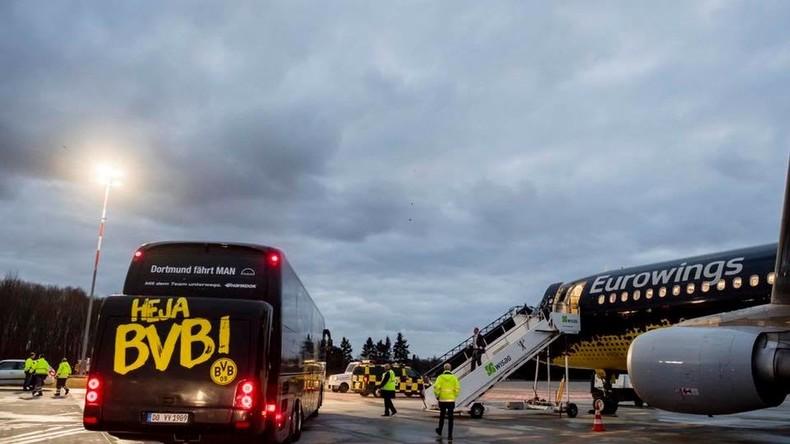 Explosion am Bus von Borussia Dortmund - Champions-League-Spiel gegen AS Monaco abgesagt