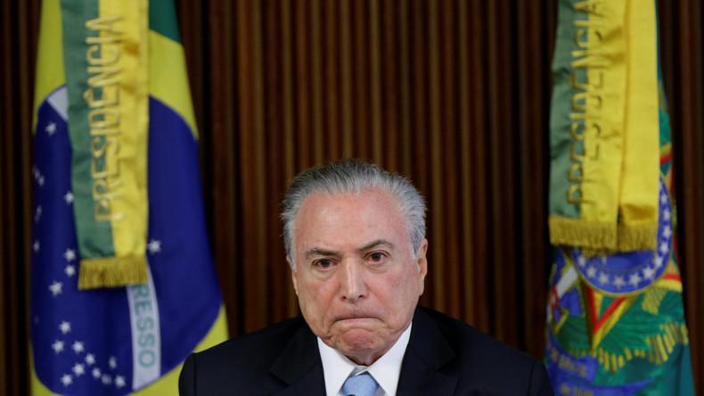 Brasilien leitet Ermittlungen gegen hochrangige Politiker wegen Korruptionsverdacht ein