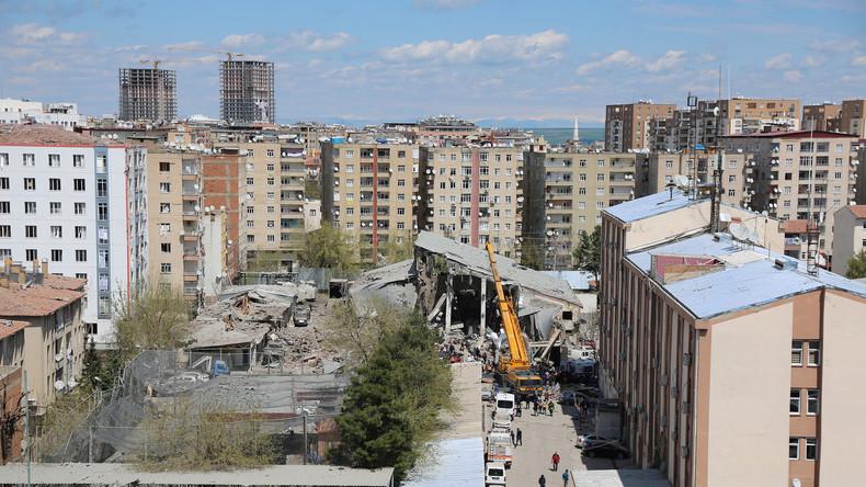 Türkisches Innenministerium stuft Explosion in Diyarbakir doch als Terroranschlag ein