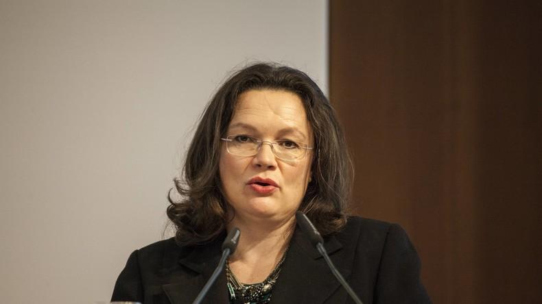 """Andrea Nahles: Wir brauchen einen """"Pakt für anständige Löhne"""""""