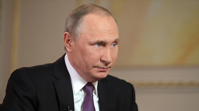 Wladimir Putin: Vertrauensniveau gegenüber USA unter Trump verfallen