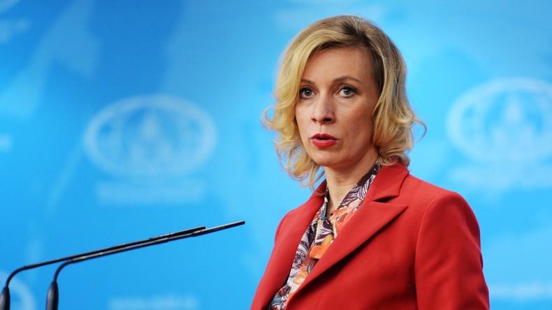 Sacharowa vermeldet Hackerattacken vom US-Territorium auf russisches Außenministerium