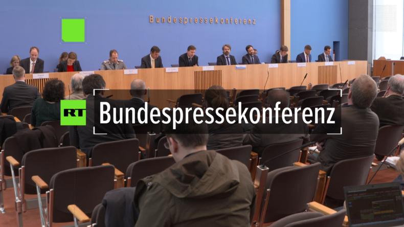 Regierungspressekonferenz: Armutsgefährdung in Deutschland nur relativ