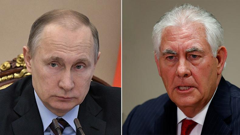 Putin empfängt doch US-Außenminister Tillerson in Moskau