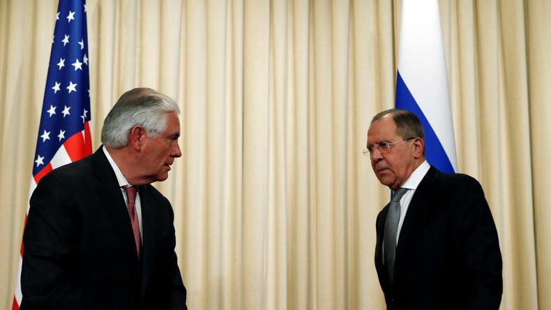 US-Außenminister Tillerson in Moskau: US-amerikanisch-russische Beziehungen sind auf dem Tiefpunkt
