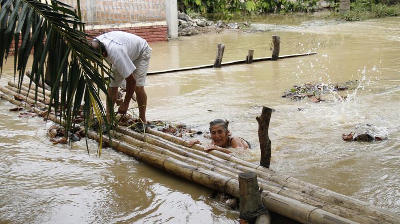 Überschwemmungen in Ecuador fordern mindestens 27 Menschenleben