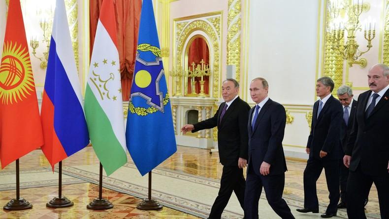 Putin: Wir werden Farbrevolutionen in Russland und bei unseren eurasischen Verbündeten verhindern