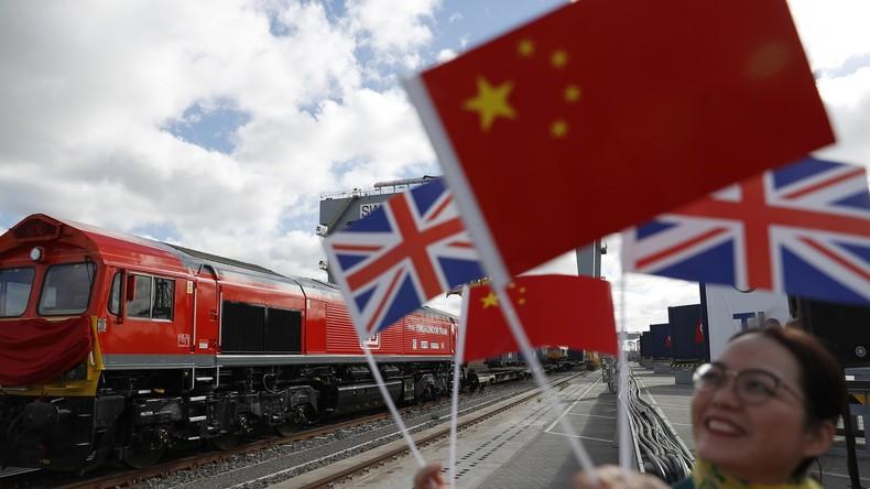 """Nach EU-Austritt: Großbritannien setzt auf Chinas """"Neue Seidenstraße"""" – Schienengüterverkehr beginnt"""
