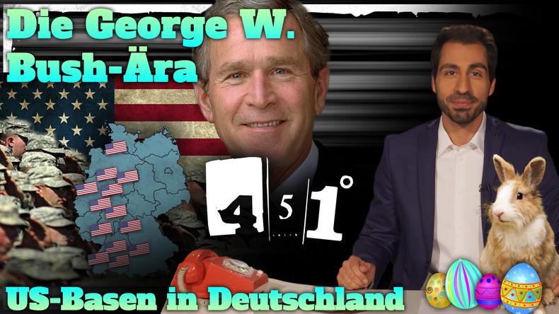 451 || Osterspezial |US-Stützpunkte auf deutschem Boden | Die Akte George W. Bush ||29
