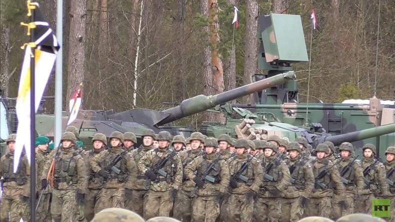 Polen: Duda begrüßt US-Soldaten feierlich zum internationalen Bataillon