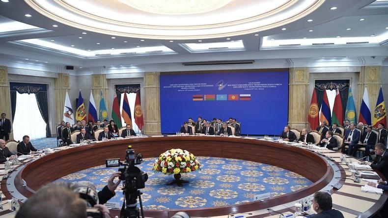 Eurasische Wirtschaftsunion: Binnenhandel floriert und macht Handelseinbußen mit Drittstaaten wett