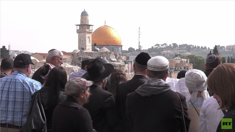 Ost-Jerusalem: Hunderte jüdische Israelis besetzten Al-Aqsa Moschee