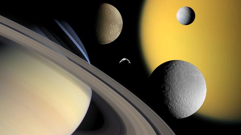 Wasserstoff auf Saturn-Mond gibt Hoffnung auf außerirdisches Leben