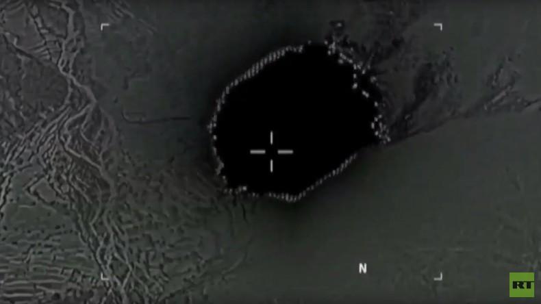 Erstes Video: US-Megabombe trifft den IS in Afghanistan