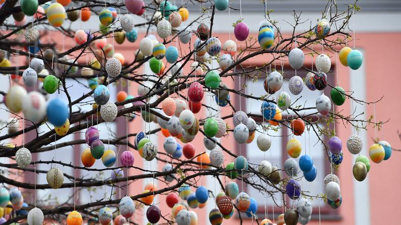 Italien: 4,5 Millionen Deko-Eier wegen gefährlicher Füllung beschlagnahmt