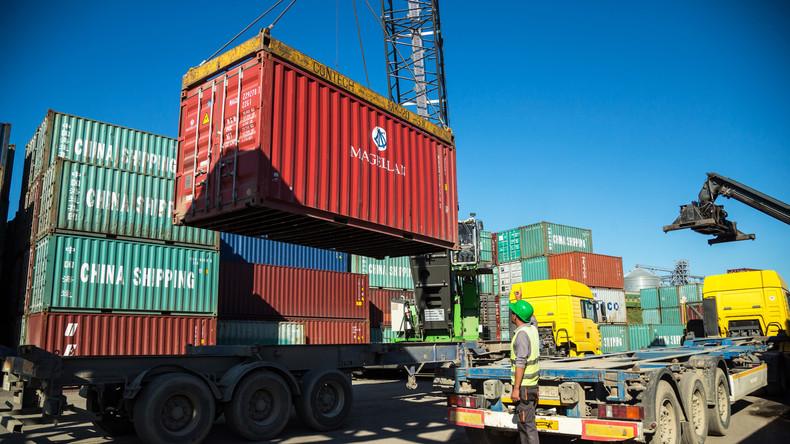 Beinahe 80 Prozent Importzuwachs von russischen Gütern in der Ukraine